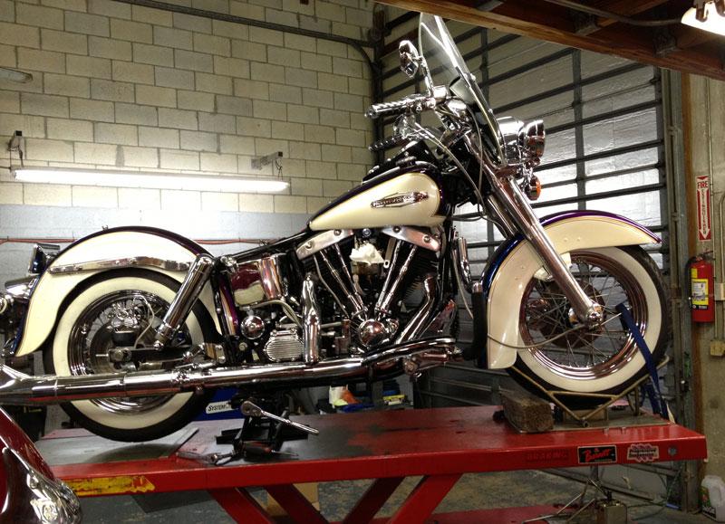 Harley Shovel